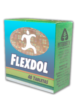 Flexdol Original Natural X 40 Tabletas