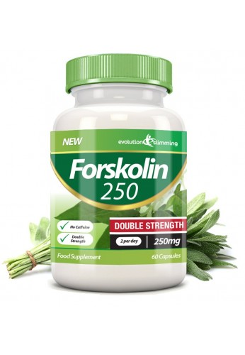 Forskolin 250 Double Strength 250mg (60 Capsules)