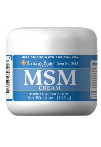 MSM en crema