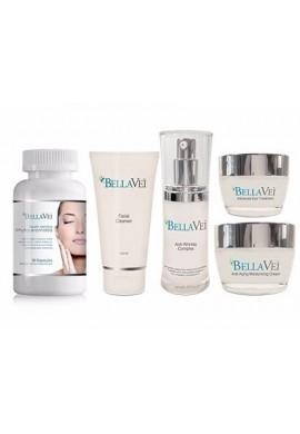 Cremas Bellavei Kit Completo 100% Original Americano Retarda Envejecimiento de la Piel