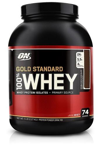 100% whey Gold Standard 5lb Optimum Nutrition Proteina Suero