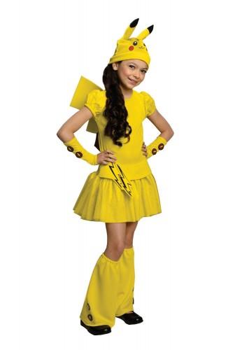 Disfraz de Pikachú para niña