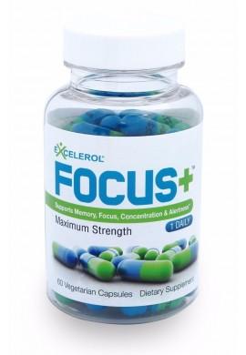Focus+ Excelerol 60 Pildoras Cerebro Inteligencia