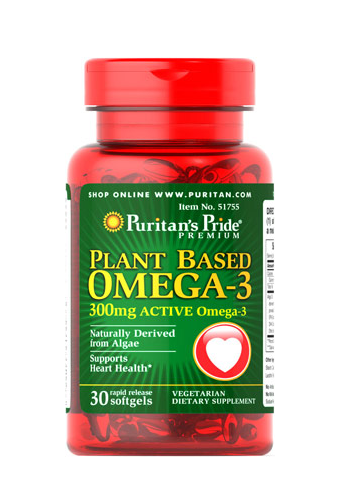 Omega de origen vegetal, 300 mg