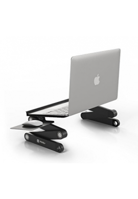 Soporte para Laptop con alfombrilla de mouse totalmente adjustable