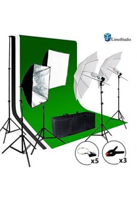 limostudio Foto Video Studio Kit de luz