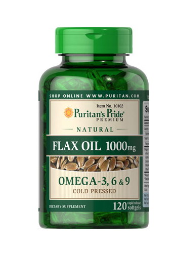 Aceite de linaza rico en lignanos