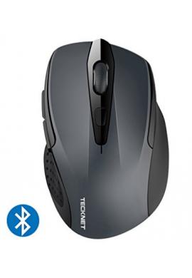 Mouse BluetoothTeckNet –24 Meses de Duración de la batería inalámbrico Bluetooth con indicador de batería
