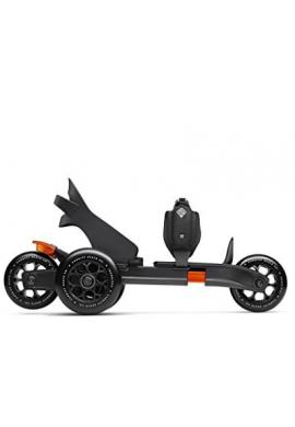 Cardiff Skate Co. Adulto S-Series S1 Patines, Grandes, Naranja