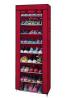 Organizador De Zapatos 10 Niveles 9 Enrejados Rack Estante