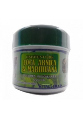 Ungüento De Coca Arnica & Marihuana Por 300 Gr