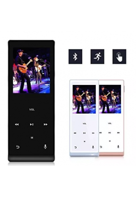 Mymahdi Reproductor De Música, 8gb Con Bluetooth Mp3 Player