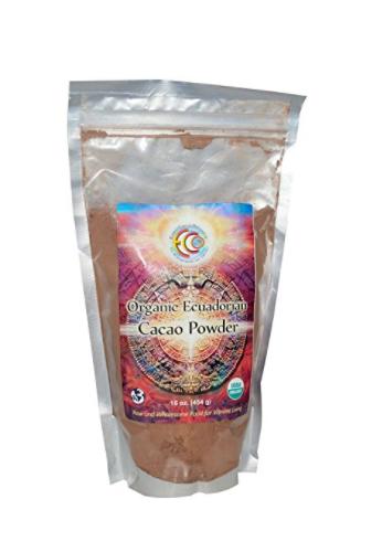 Earth Circle Organics Cacao Ecuatorial en Polvo, 16 Onzas (454g)