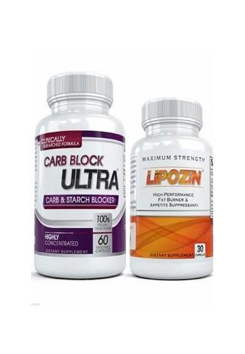 LIPOZIN + CARB BLOCK ULTRA COMBO