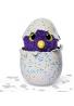 Hatchimals Glittering Garden, Huevo de incubación, criatura interactiva, draggle resplandeciente por Spin Master