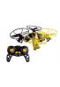 Drone Force Morph-Zilla-2.4Ghz Interior/Exterior Drone Helicoptero Juguete Para Tierra y Aire