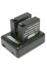 Wasabi Power – Batería y Cargador para Cámara de acción yi 4 K