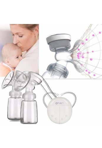 Extractor Doble Leche Materna Electrico Tipo Avent Lactanc