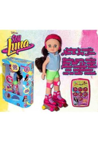 Muñeca Patinadora Soy Luna Musical Control Remoto Entreg Inmediata