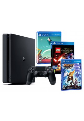 Playstation 4 Consola PS4 Slim 500 Gb PACK 3 Juegos