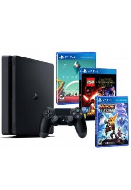 PlayStation 4 Slim Xs 1TB + 3 Juegos