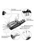 Kit de herramienta de reparación de mecánico de moto de moto