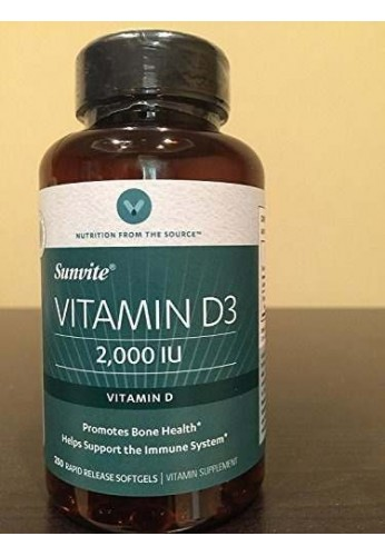 Vitamin D3 2000 IU Mejora La Salud De La Piel