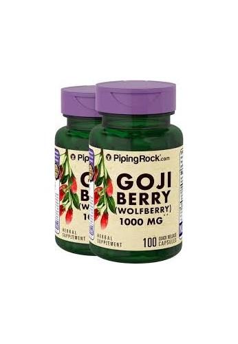 Goji Berry Wolfberry 1000 mgs X 100 capsulas