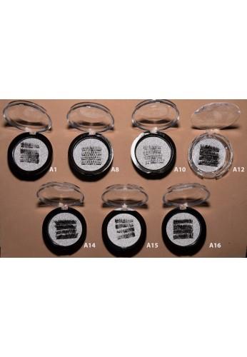 Pestañas Magnéticas 3d Extensiones Postizas Tres Imanes