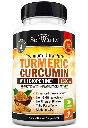Turmeric Curcumin With Bioperine - Superior Absorption & Bio