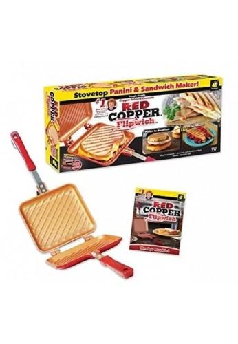 Sandwich Asado A La Parrilla De Red Copper Flipwich Duo Tv