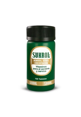 Sukrol Vitaminas para el Cerebro y Nervios