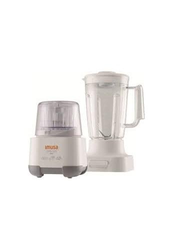 Pica 123 + Vaso Imusa 5861020665 Blanco 650w