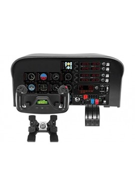Logitech G Saitek Pro Flight Yoke System Control Simuladores