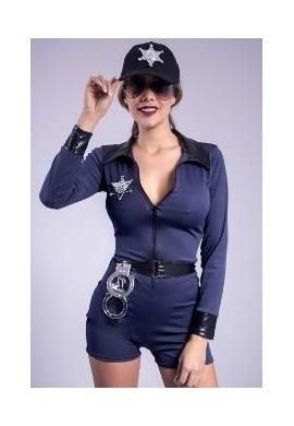 Disfraz Policia Americana Halloween