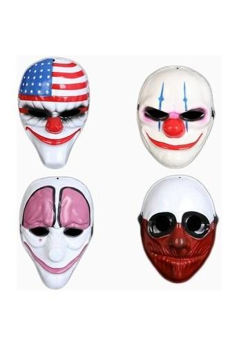 Mascaras Payasos Asesinos La Purga Disfraz Halloween