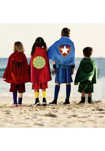 Disfraz Superhéroe Capa Y Antifaz
