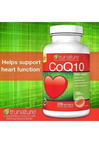 Trunature de coenzima Q-10 CoQ10 100mg 220 cápsulas