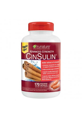 Canela Cinsulin Cinnamon Advanced Strength