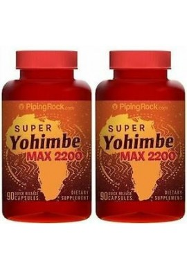 Super Yohimbe Max 2200 mg Potenciador Sexual