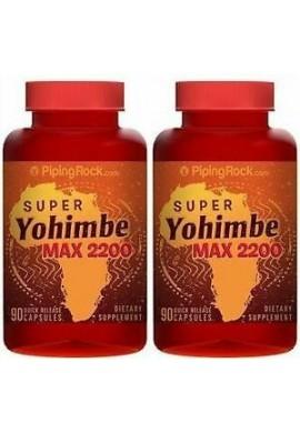 Super Yohimbe Max 2200 mg Potenciador Sexual